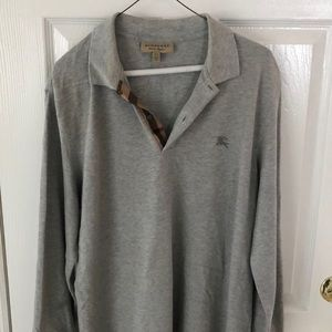 Long sleeve Burberry shirt